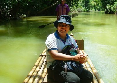 Bamboo Rafting at Khao Sok National Park
